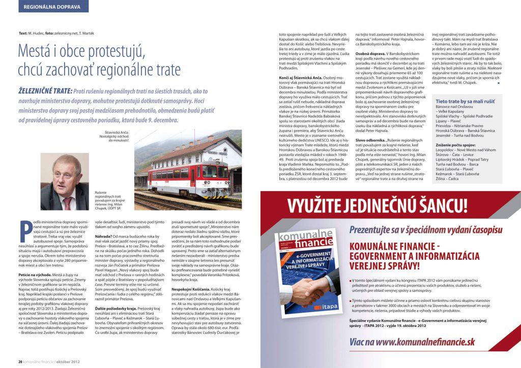 Komunálne financie, časopis o ekonomike miest a obcí, DTP, dizajn, grafika