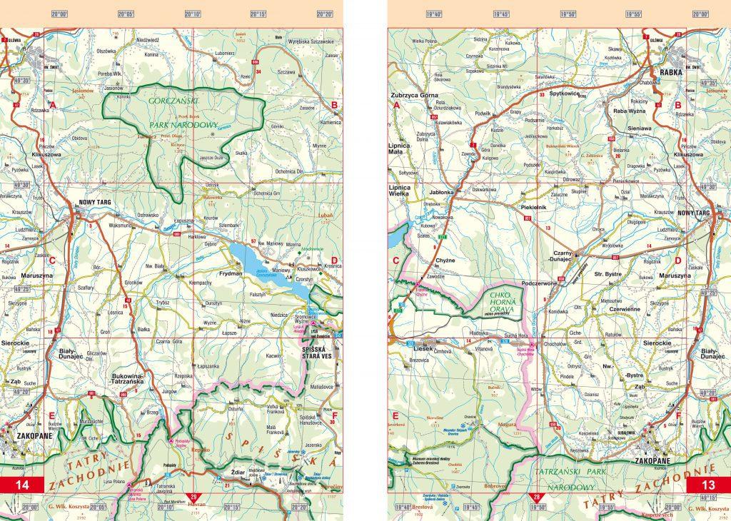 Autoatlas Slovenskej republiky automapa, cyklomapa, turistika a výlety, DTP, grafika, dizajn