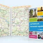 Autoatlas, grafický dizajn, DTP, príprava do tlače, Autoatlas Slovenskej republiky automapa, cyklomapa, turistika a výlety