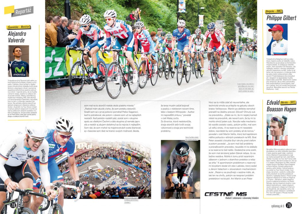 Cyklomag, magazín, časopis, grafický dizajn, DTP, príprava do tlače