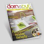 Časopis Domabyt, grafický dizajn, DTP, príprava do tlače