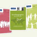 Eurogeographics, výročná správa, bulletin, časopis, grafický dizajn, DTP, príprava do tlače