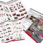 Gazda centrum leták, brožúra, grafický dizajn, DTP, príprava do tlače