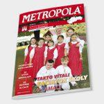 Metropola magazín časopis, grafický dizajn, DTP, príprava do tlače
