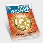 Revue priemyslu magazín časopis, grafický dizajn, DTP, príprava do tlače, Revue priemyslu, časopis, ľudia, manažment a hospodárstvo, financie