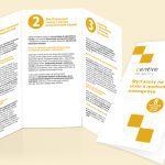 Centire brožúra, grafický dizajn, DTP, príprava do tlače