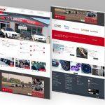 Maxmotorsport web, web dizajn, správa webu, koding